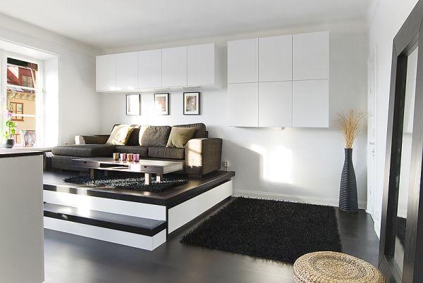 petit espace l art du rangement le secteur de l 39 immobilier. Black Bedroom Furniture Sets. Home Design Ideas